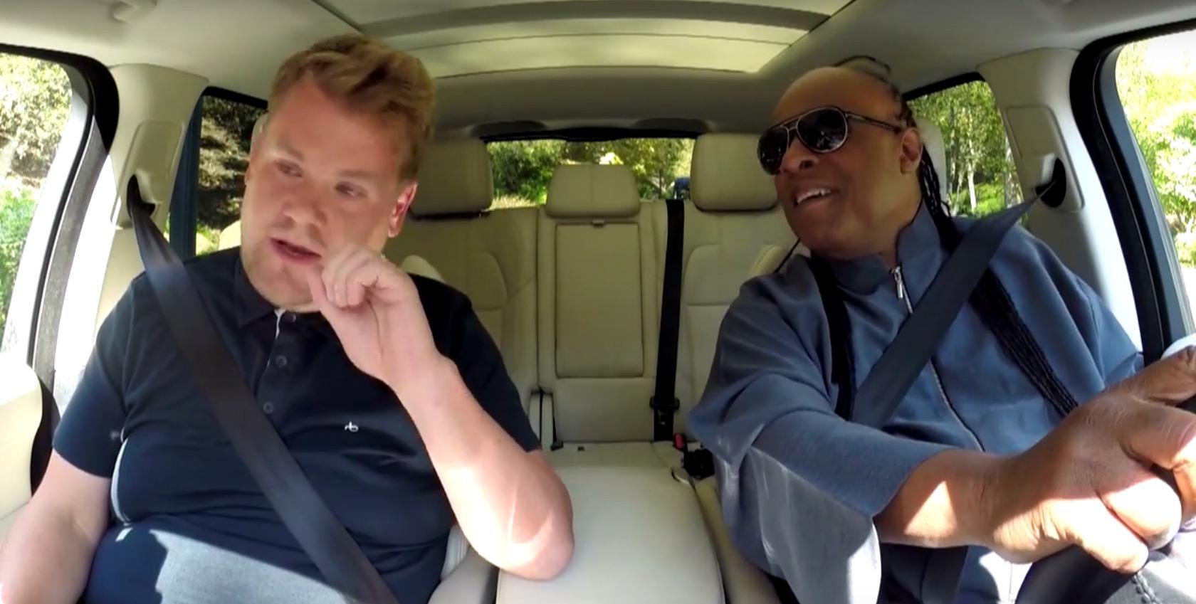 Stevie Wonder Almost Drove James Corden To Work In Carpooling