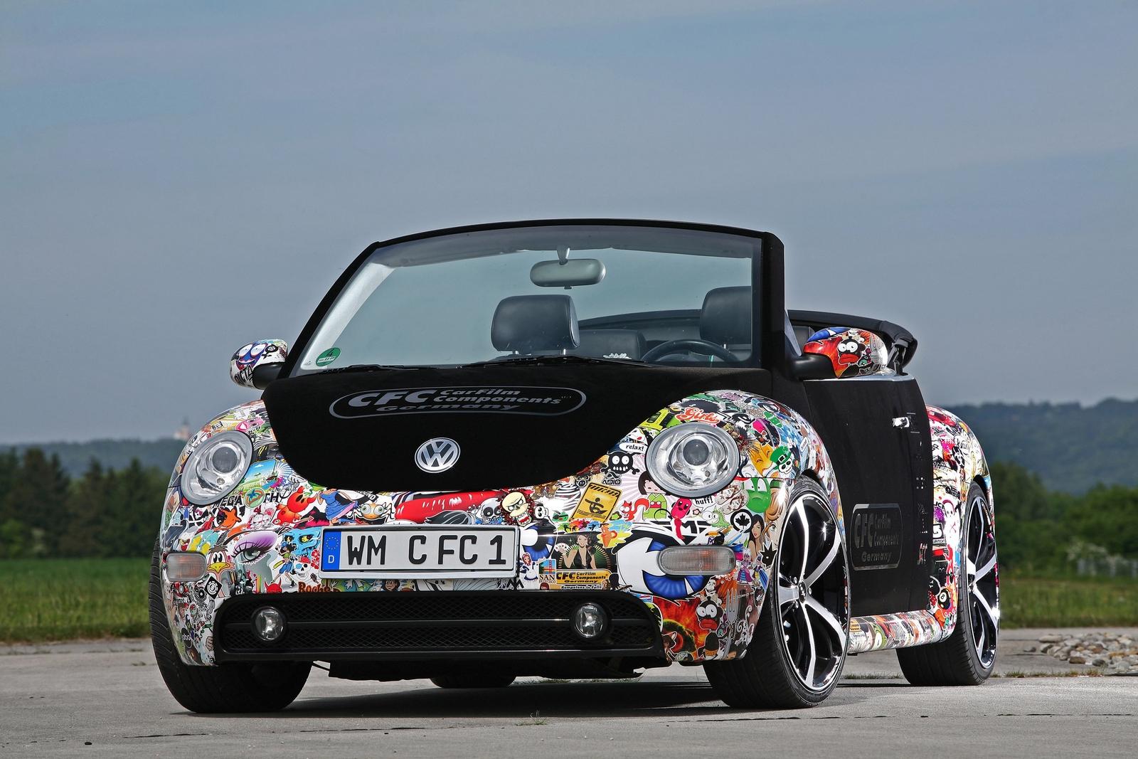 Sticker bomb car design - Cfc Beetle Stickerbomb