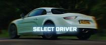 Stig Drifts the Alpine A110, Car Feels Like a Clumsy Drift Queen