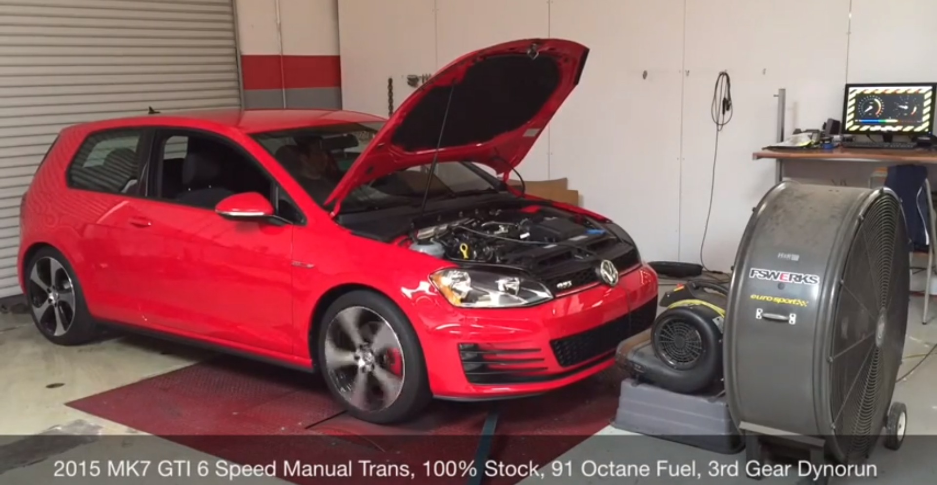 Stock 2015 Golf GTI Dyno Test Shows 263 HP, Proves VW