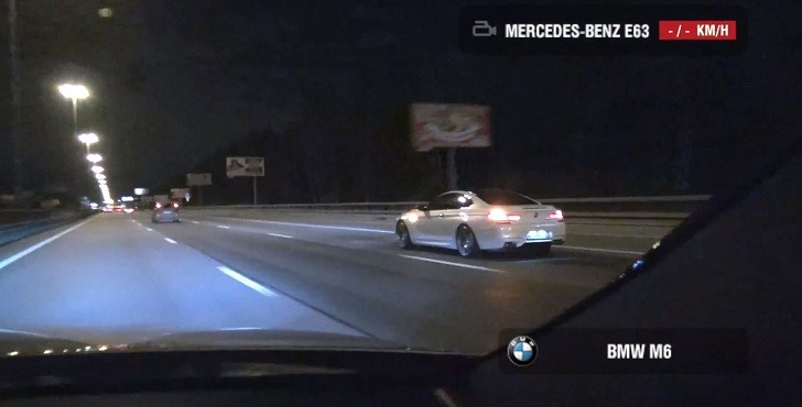 Stock BMW F13 M6 vs 700 HP Mercedes-Benz E63 AMG 4Matic [Video]