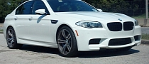Stock BMW M5 Runs 11.78 Second Quarter Mile