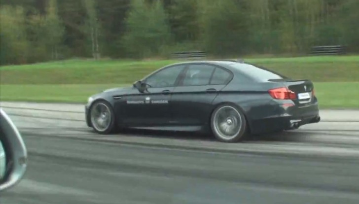 700 HP RS6 in Incredible Drag Race: a Glitch in the Matrix? [Video