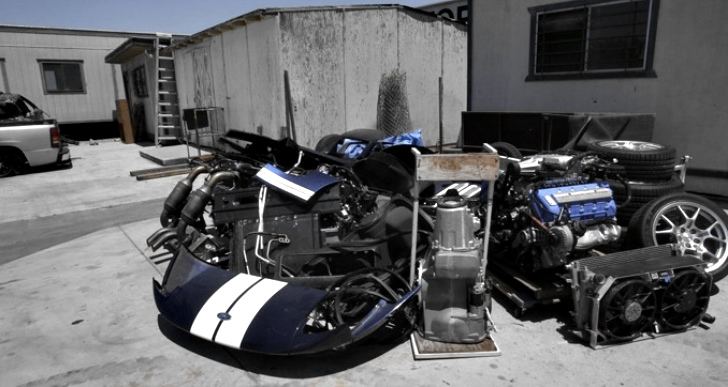 Stolen Ford GT Found Dismantled in Warehouse [Video]