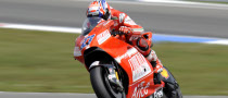 Stoner Tops First Practice at Sachsenring