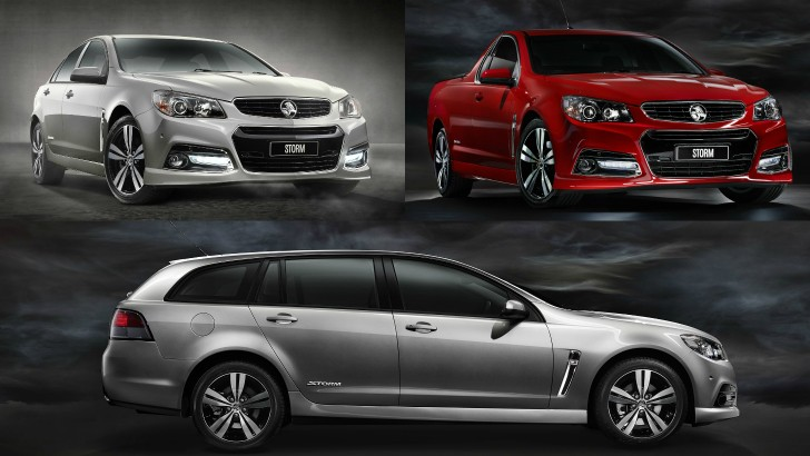 Storm Special Edition Reintroduced For 2015 Holden Vf