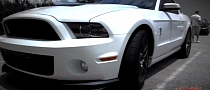 Street Race: 2013 Shelby GT500 vs Corvette ZR1 [Video]