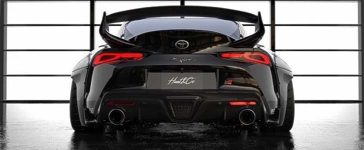 Street Hunter 2020 Toyota Supra Widebody Shows Quot Mk Iv Trd