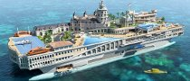 Streets of Monaco Yacht Comes with Go Kart Circuit
