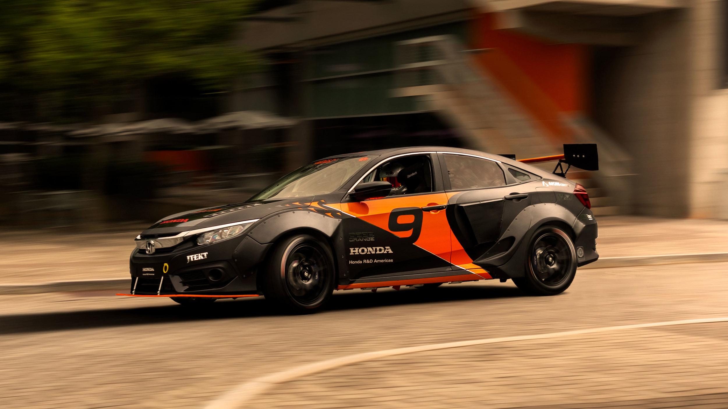 8 Photos Honda Civic Hybrid Racing Car