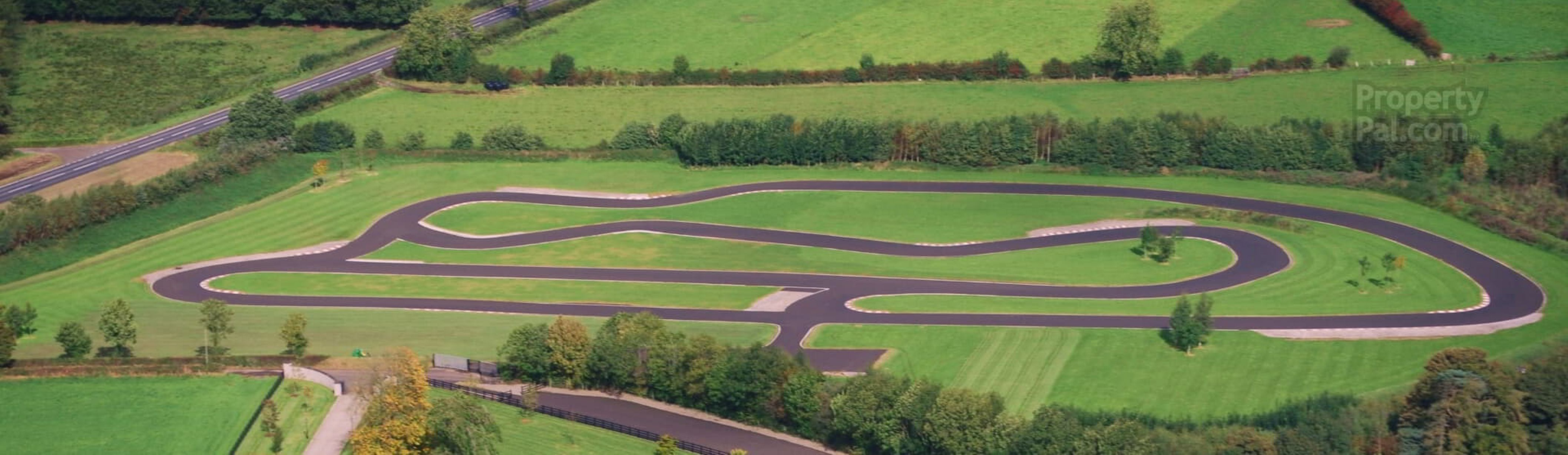 Stunning 33 Acre Land With Race Track Is A Petrolhead