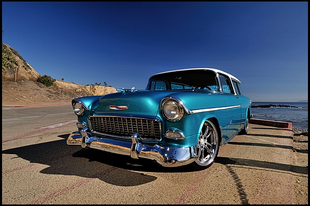 Stunning Corvette Powered Chevrolet Nomad Going Under The