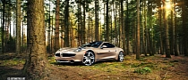 Stunning Fisker Karma Forest Photoshoot [Photo Gallery]