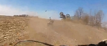 Stupid ATV Rider Causes Massive Crash [Video]