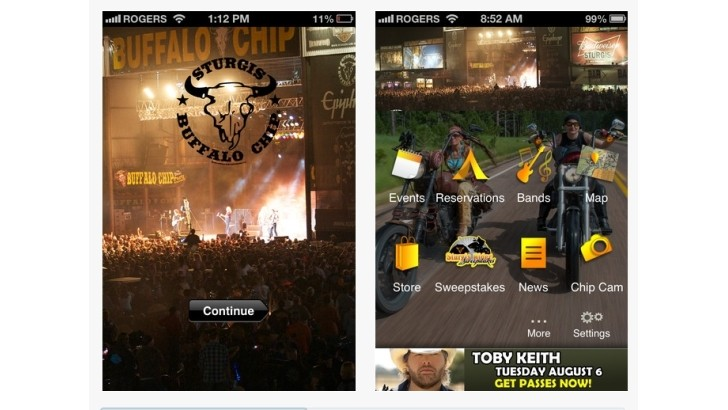 Sturgis Buffalo Chip App Available Now