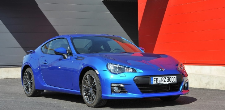 Subaru BRZ and Scion FR-S - US' Fastest Selling Cars in ...