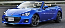 Subaru BRZ Convertible Rendering Released