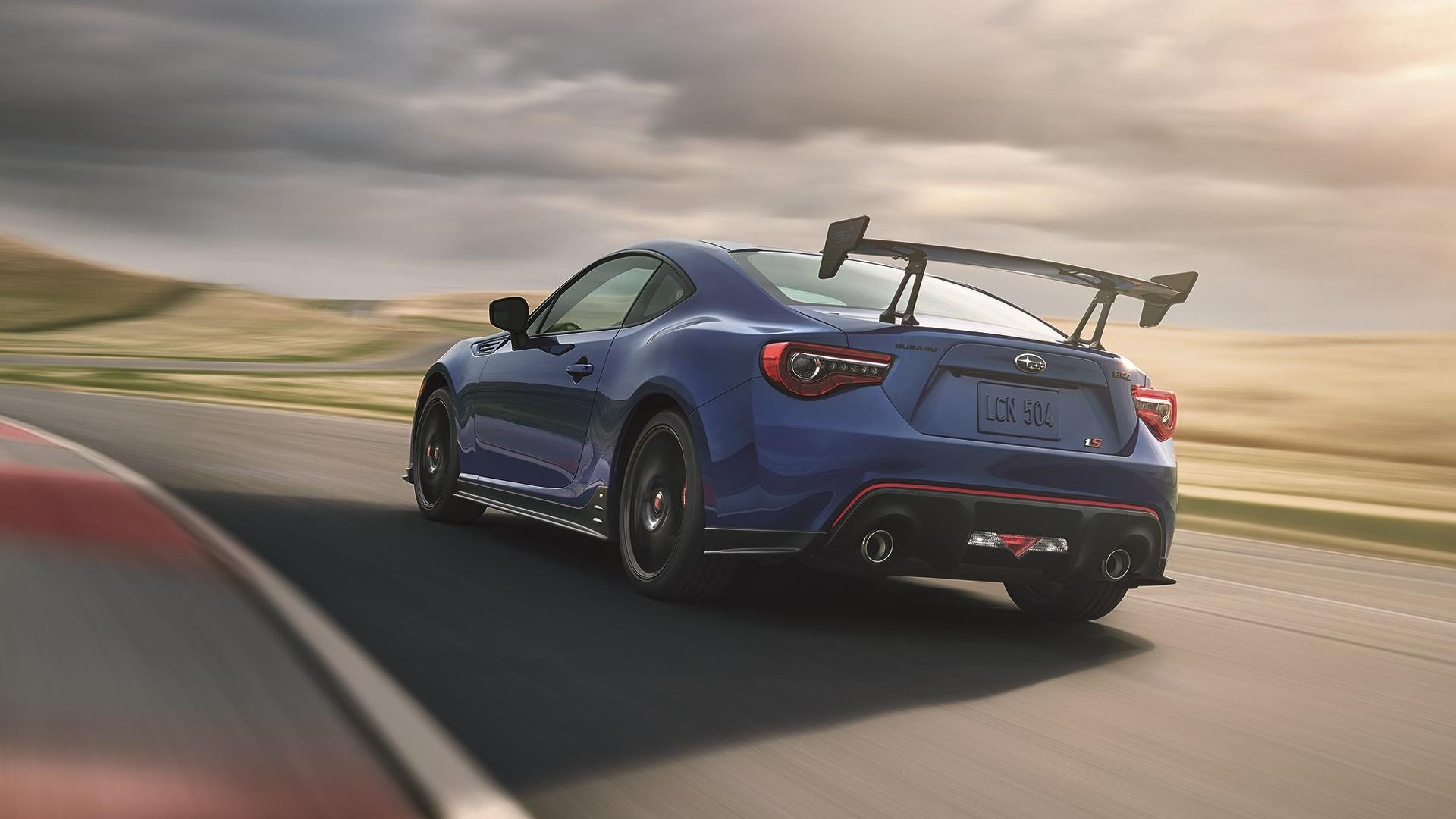 Subaru BRZ tS Revealed With Big Carbon Wing Courtesy of ...