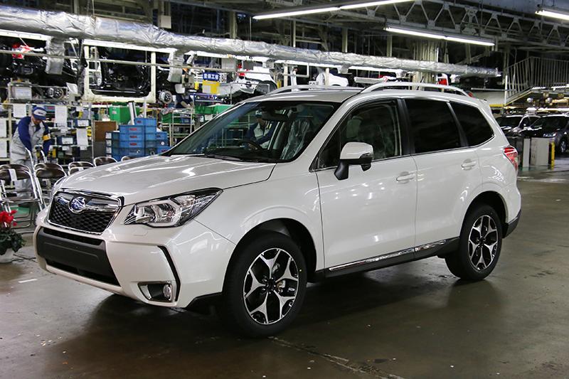 Subaru Celebrates 20 Million Cars Built In Japan
