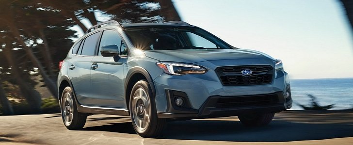 subaru confirms 2018 crosstrek will debut at the 2017 new york auto show autoevolution. Black Bedroom Furniture Sets. Home Design Ideas