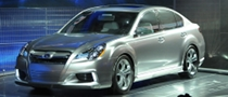 Subaru Displays All-New 2009 Legacy Concept at Detroit