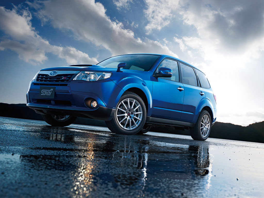 Subaru Forester Ts Is An Sti Toy Autoevolution