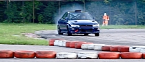 Subaru Impreza with BMW M5 V10 Engine Goes Drifting [Video]