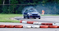 V10-powered Impreza drifting