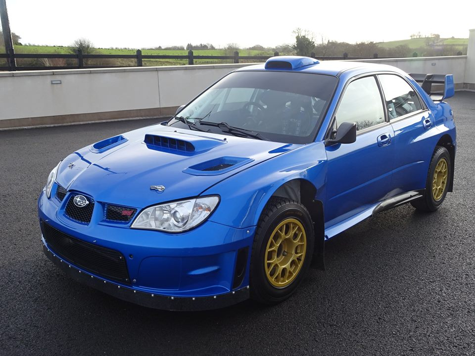 subaru impreza wrc s12b driven by petter solberg and colin mcrae put up for sale autoevolution. Black Bedroom Furniture Sets. Home Design Ideas