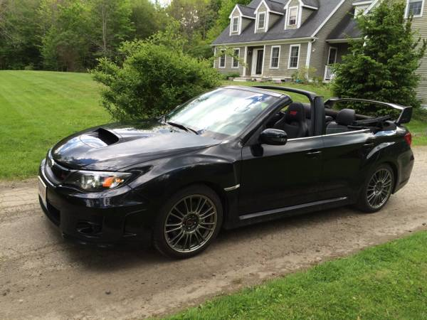 2011 Subaru Impreza Wrx Sti Convertible For Sale Costs