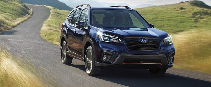 subaru improves forester suv with more standard features