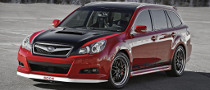 Subaru Legacy GTk Unveiled at SEMA 2009