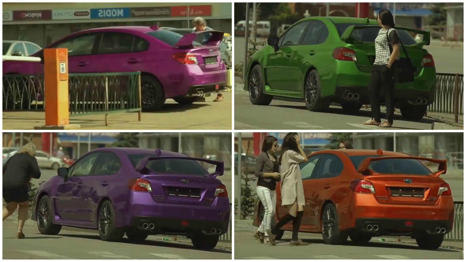 Subaru Paramagnetic Color Change Prank Is Funny But Fake