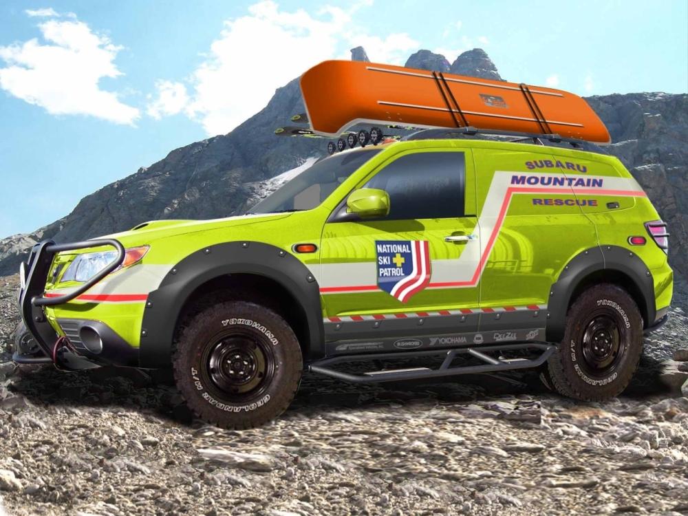 Subaru Forester Sti Tuning >> Subaru Presents Mountain Rescue Forester - autoevolution