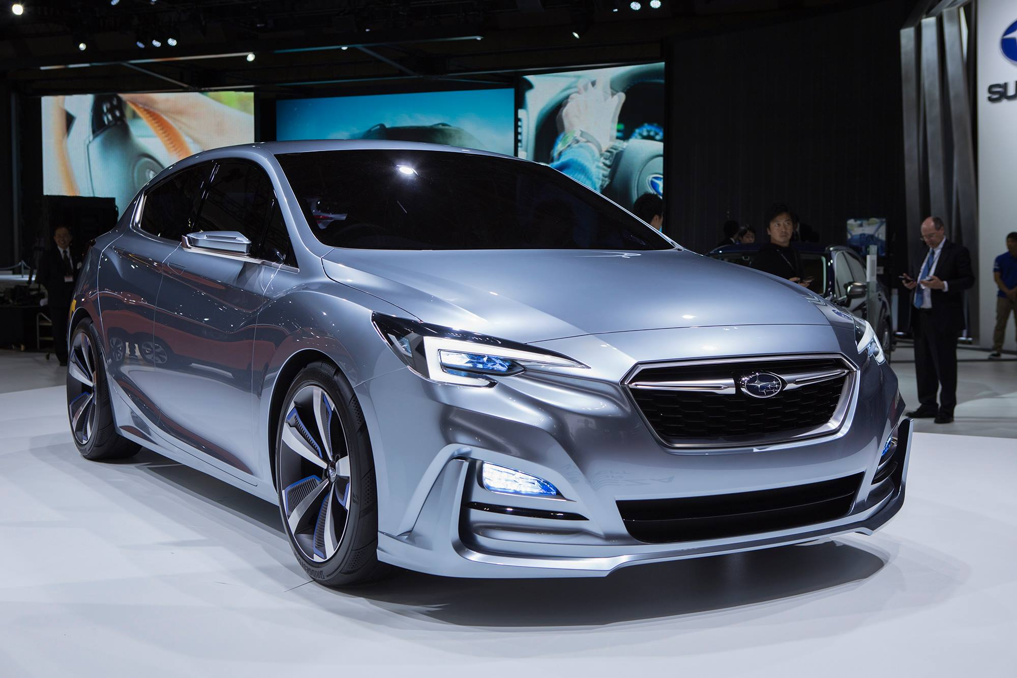 subaru previews 2017 impreza with 5 door concept in tokyo autoevolution. Black Bedroom Furniture Sets. Home Design Ideas