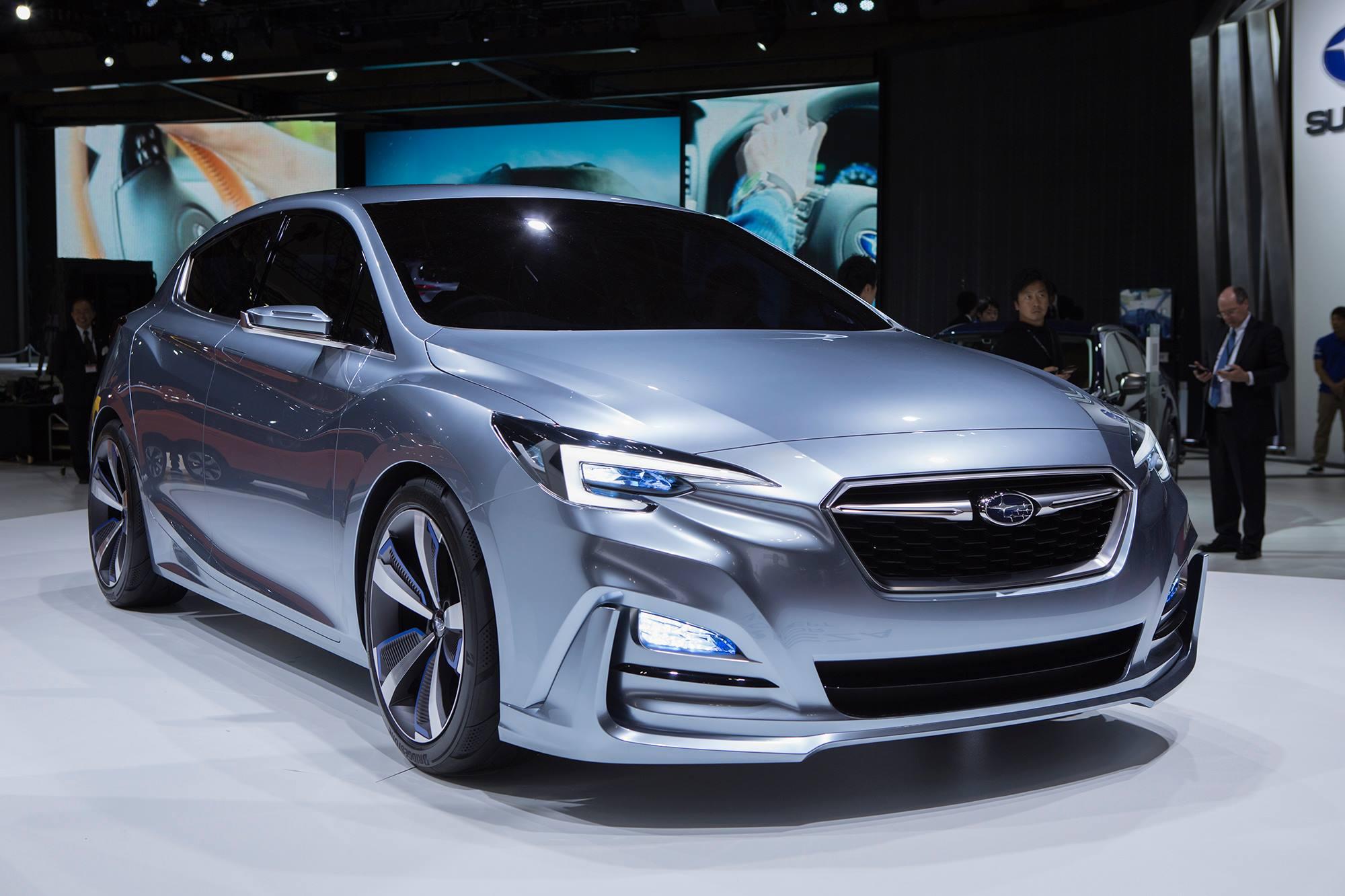 "the new ""Dynamic & Solid"" design language, this Subaru ..."
