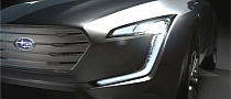 "Subaru Previews ""Future-Generation Crossover Concept"" in Geneva"