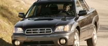 Subaru Recalls Baja Due to Fuel Leak