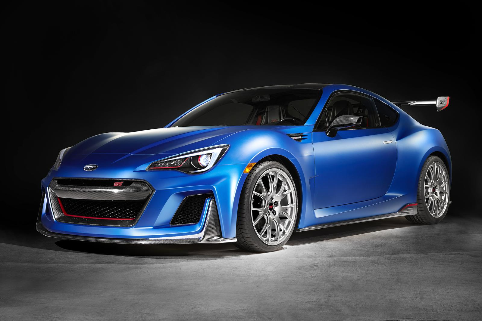 subaru to launch sti version of the brz model for the us market