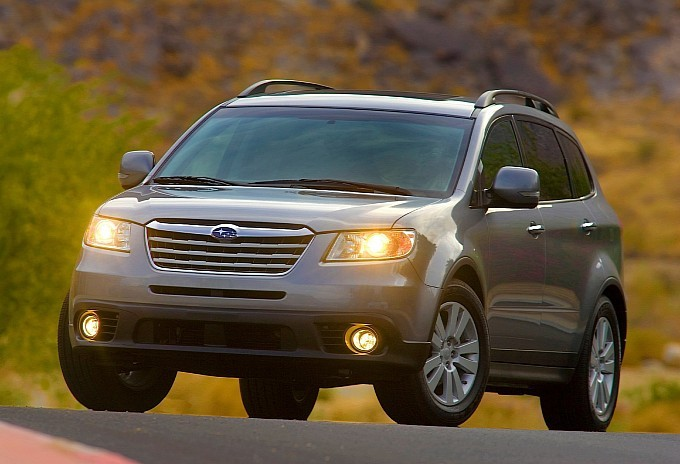 Subaru Tribeca Production to End in January