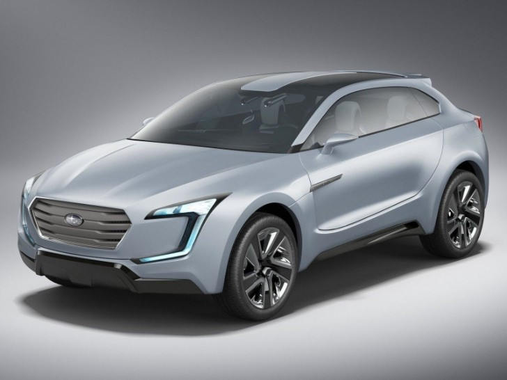 Subaru Viziv Concept Revealed [Photo Gallery]