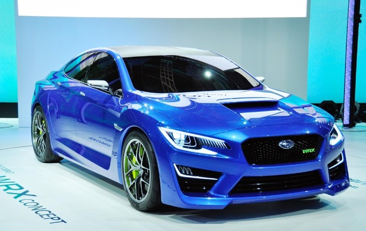 Subaru WRX Concept to Make European Debut at Frankfurt