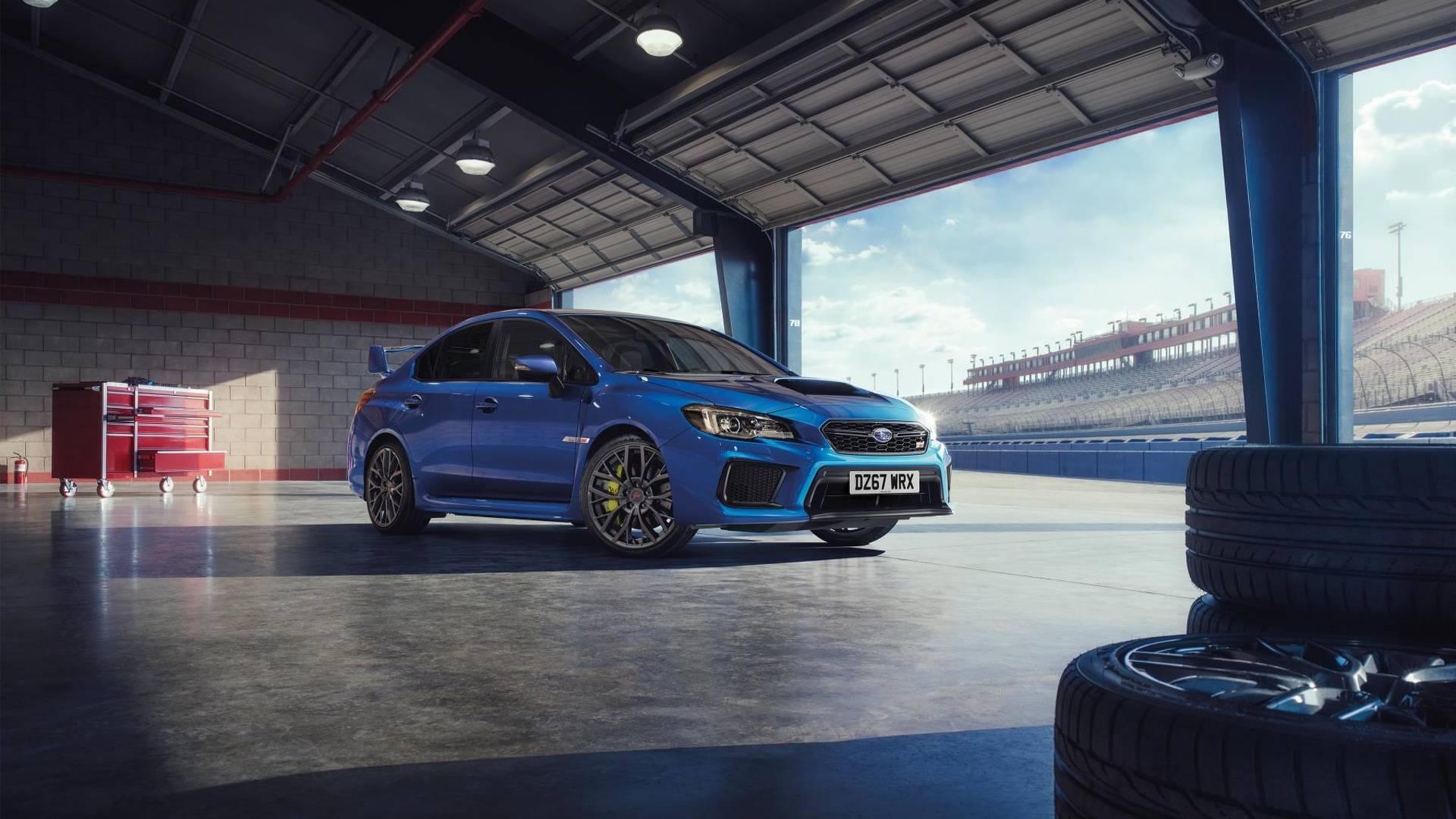 2018 Subaru Wrx Sti Final Edition Uk Model