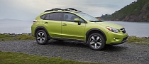 Subaru XV Crosstrek Hybrid Is Green in the Big Apple [Photo Gallery]