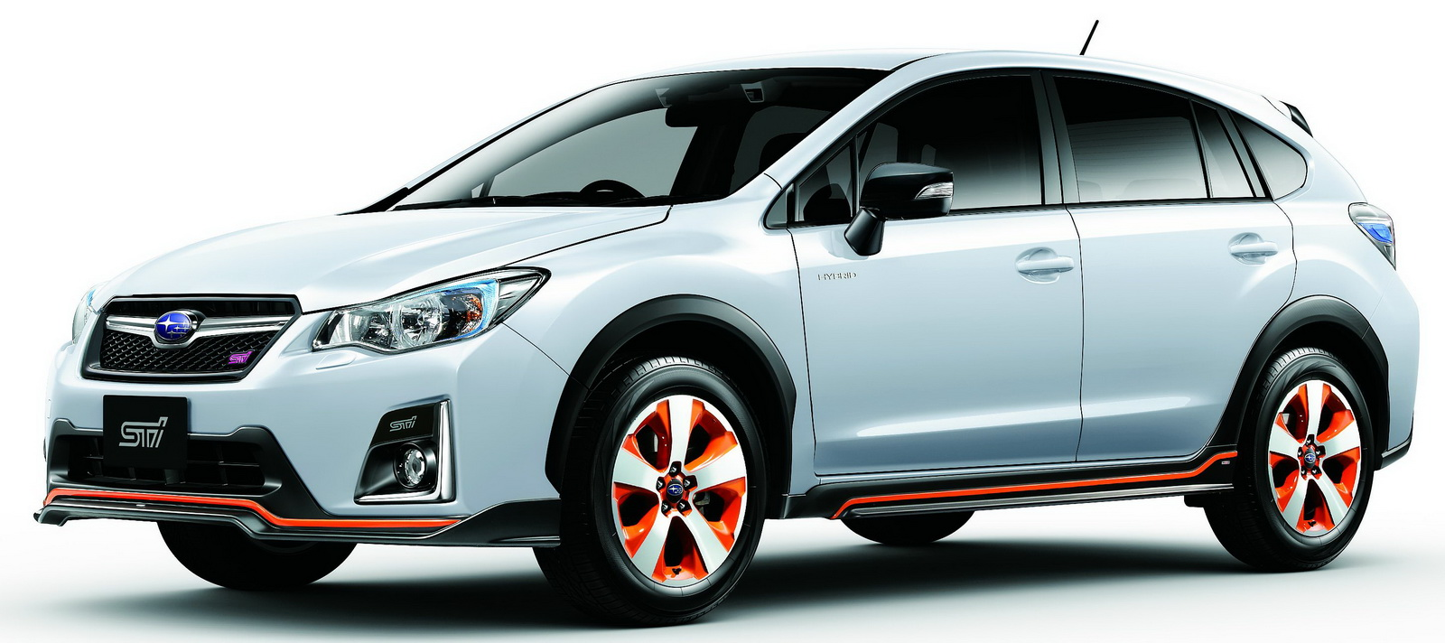 subaru xv hybrid ts tuned by sti revealed in japan. Black Bedroom Furniture Sets. Home Design Ideas