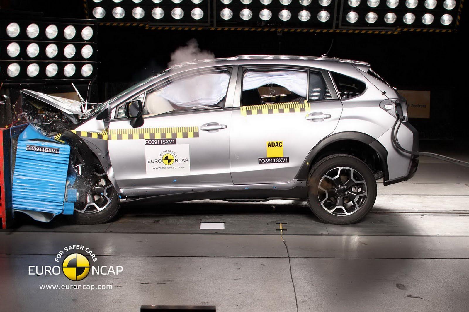 Subaru XV Receives FiveStar Euro NCAP Rating  autoevolution