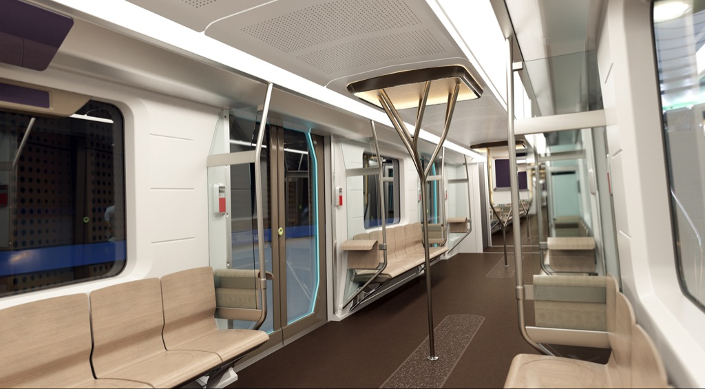 subway of the future metro inspiro by bmw and siemens autoevolution. Black Bedroom Furniture Sets. Home Design Ideas