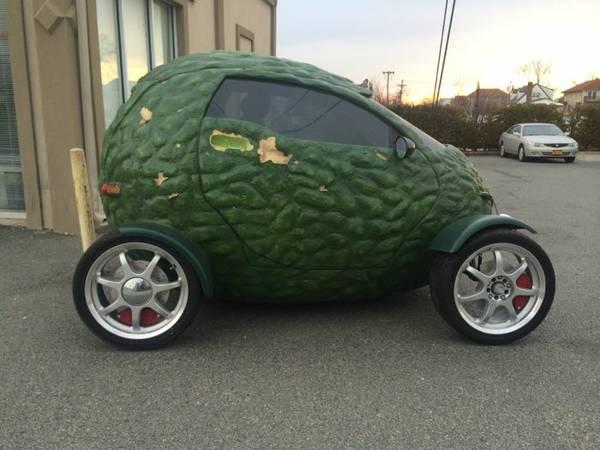 Subway's Avocado Car for Sale on Craigslist - autoevolution