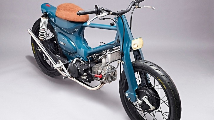 Super Motor Salt Shaker Custom Bike