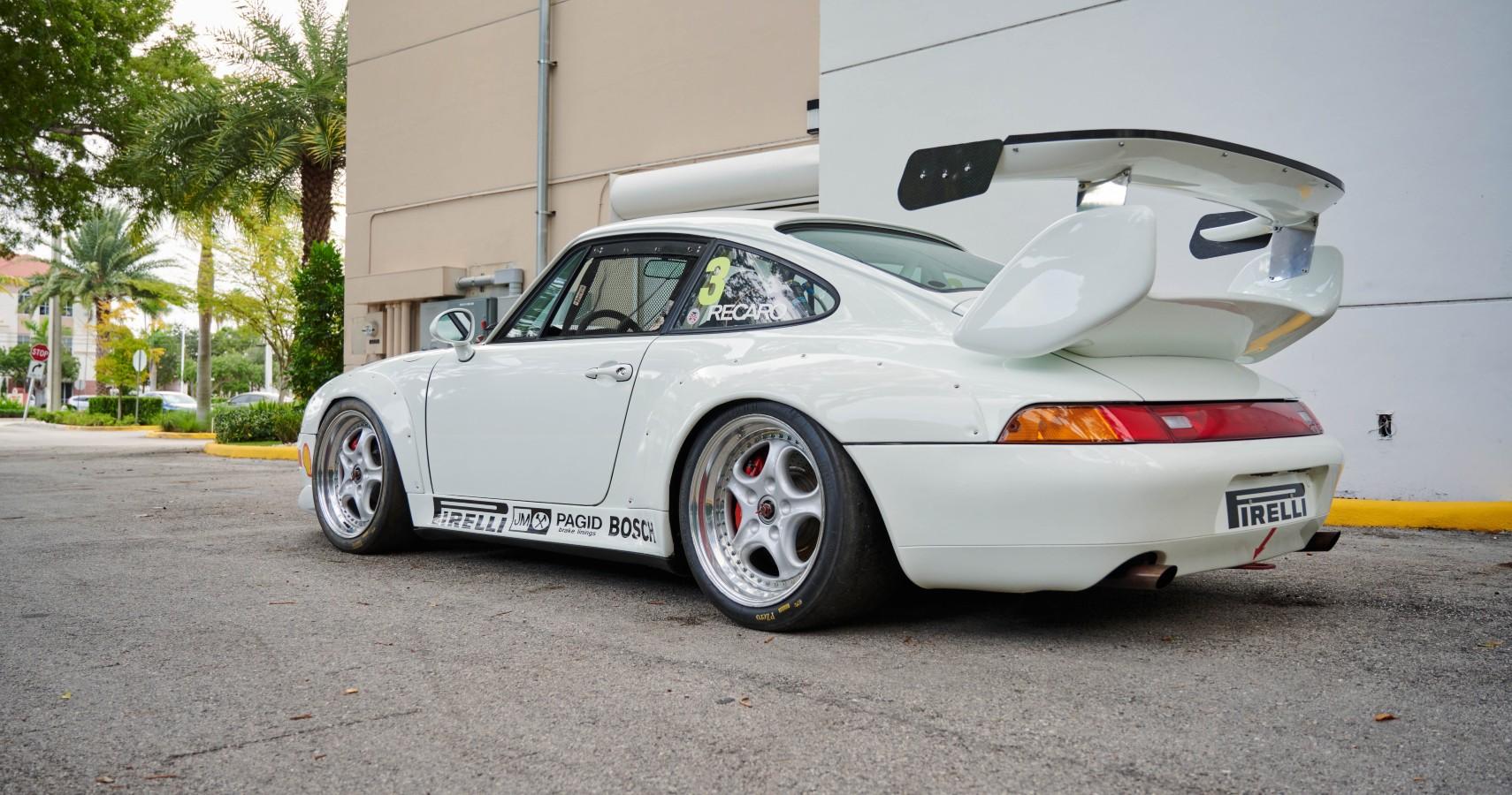 Super Rare Porsche 911 Cup 3.8 RSR Evo Up for Auction